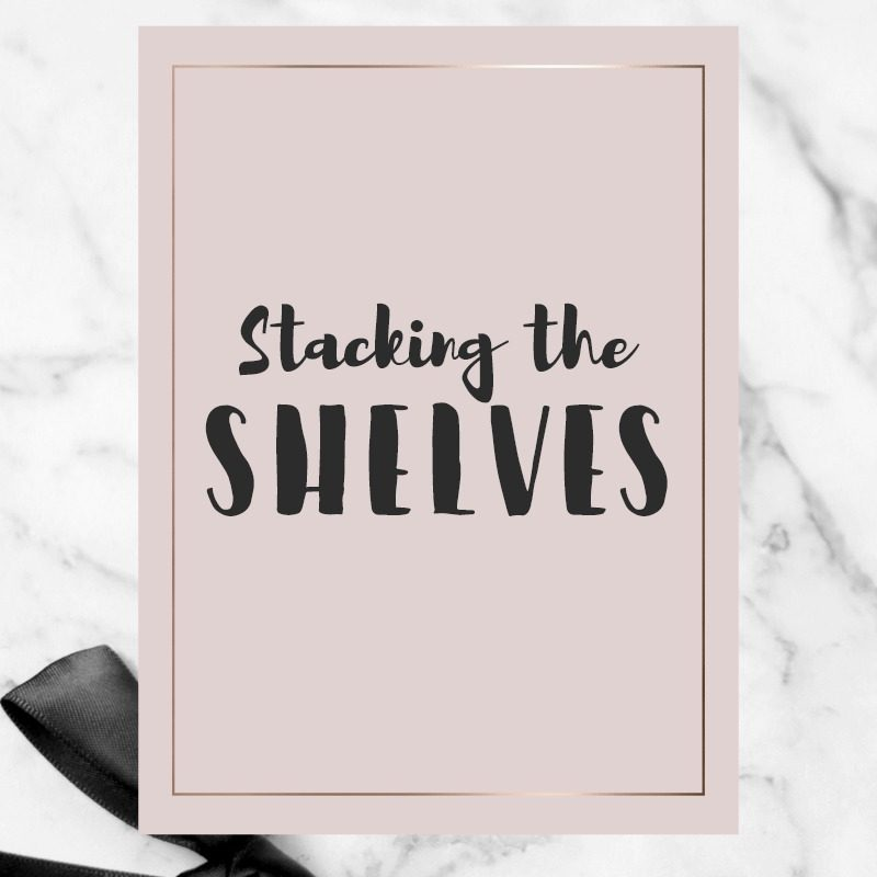 Stacking the Shelves #124 & Blogoversary