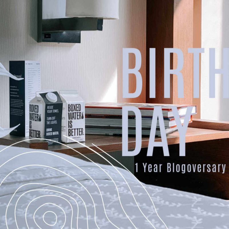1 Year Blogoversary