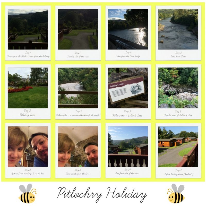 Holiday to Pitlochry!