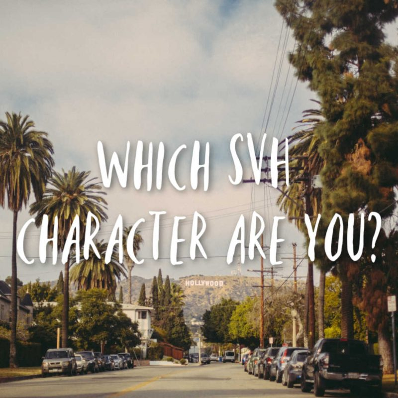 Which SVH character are you?