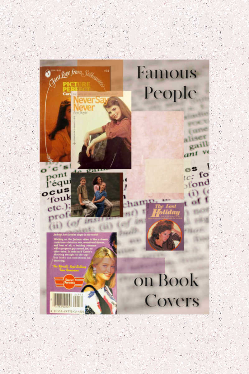 famous people on book covers